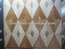 Factory Producing Column Flooring Art Parquet wood flooring