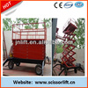6m height mobile scissor lift/hydraulic scissor lift