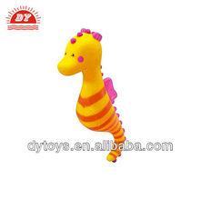 funny cute charming cartoon plastic seahorse