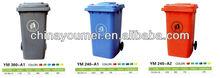 outdoor plastic contaniner 100L waste bins