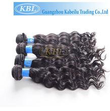 guangzhou KBL 100%human hiar,brazilian virgin hair aaaaa
