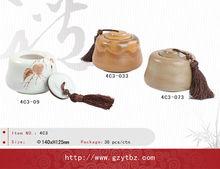 Ceramic Decorate tea box