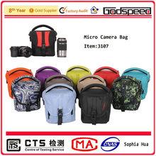 Colorful professional micro camera bag/slr camera case