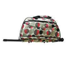 New Style Foldable Point Dots Large Trolley Luggage