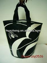 Handbag hot sale shopping handbags/reusable shopping bags/plastic shopping bags