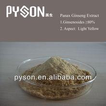 100% natural Panax Ginseng Extract Ginsenosides 30%