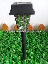 Led Mosaic solar garden lights