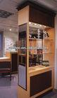 eyewear wooden cabinet display stand