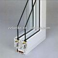 preço de grosso branco plástico perfil da janela do pvc e porta