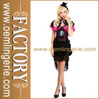 Burlesque Rose Halloween Costume