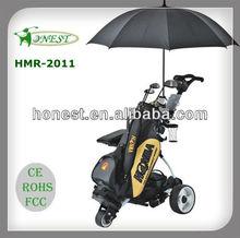 Floding Smart Digital Remote Electric Golf Carts Golf Trolley Golf Car for sale price HMR-2011