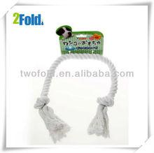 2013 White Cotton Rope Dog toys r us