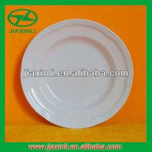 9'' Curved Melamine Plate