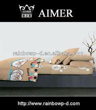 bedding set for child /cartoon printed duvet cover set bed sheet