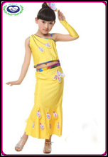 oriental costumes girls costume for dance girls performance wear dance dress child