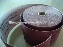 Cheap Abrasive emery cloth roll dekon brand