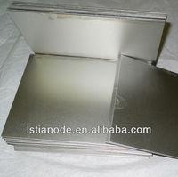 brushed nickel sheet metal