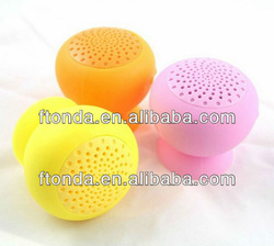 hot selling bluetooth speaker silicon waterproof ,Portable bluetooth silicon Speaker