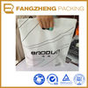 2013 fashion White Printing cloth shopping bag