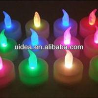 Wholesale colorful led tea light