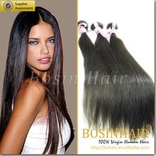soft and natural 100% virgin brazilian straight hair