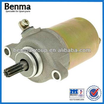 Factory Wholesale starter motor for YMH MBK 50cc 4-stroke.