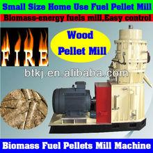 Flat Die Small Size Biomass Fuel Munch Pellet Mill Produce Tight Stick Fuel Pellets