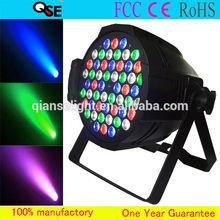 Die-cast Aluminum Housing 54*3W RGBW LEDs Par64 LED Strobe DJ Stage Light