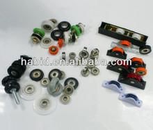 Patio screen garage wardrobe door rollers