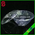 fábrica personalizado transparente salada tigelas de plástico