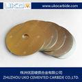 La costumbre de carburo de tungsteno blades- sólido y con punta de