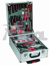 226pcs aluminium case hand tool set with tools