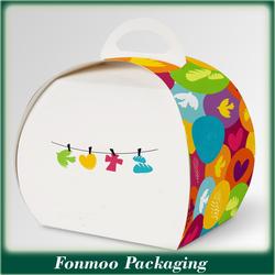 Food Grade Paper Cake/cupcake Packaging Box