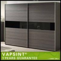 2014 new plastic bedroom wardrobe sliding door design