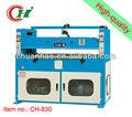 Ch-830 30t plano hidráulico clicker prensas de la máquina para la fabricación de cinturones de cuero