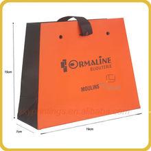 Hot sale cheap easy taking beautiful shopper bag paper wholesale