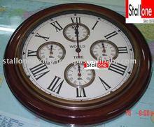 BRASS METAL CIRCLE CLOCK