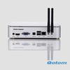 intel atom mini pc windows 7,vga mini pc with hdmi and wifi,cheap mini pc server QOTOM-T255I,2G RAM+8G SSD,300M wifi+4USB