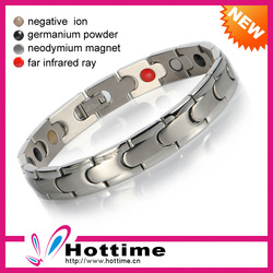 5 In 1 Magnetic Top Quality Stainless Steel Bracelets