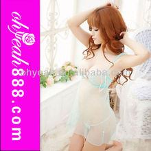 Wholesale babydoll + g-string transparent lingerie pics