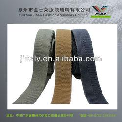 hot sale herringbone cotton narrow fabric