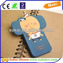 animals design silicone mobile phone case