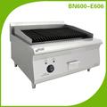 équipement de restaurant/barbecue électrique avec la pierre de lave/gril à gaz industrielles BN600-E606(CE approval)