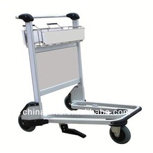 airport luggage trolley cart