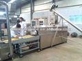 Extrusora de alimentos/la producción de alimentos de la máquina/snacks línea de procesamiento/snacks maquinaria