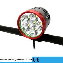 rechargeable 7000lm bike light mini led bike lamp 8800mAh