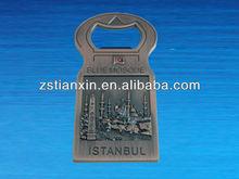 costom beer copper bottle opener/antique metal copper bottle opener