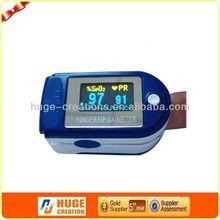 Medical products finger pulse oximeter usb port