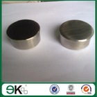 Stainless steel round post cap for staircase railing (KEK21F)
