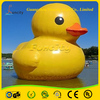 Factory price 0.6mm PVC tarpaulin water toys new style high quality giant inflatable yellow duck